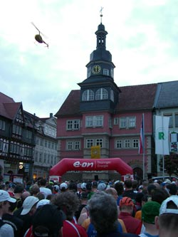 Rennsteiglauf Supermarathon: Start in Eisenach